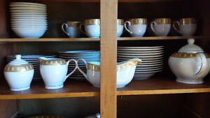 Set de vaisselle porcelaine ORLY, Série Elegance