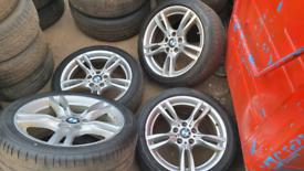 Bmw msport alloys 18inch alloy wheels