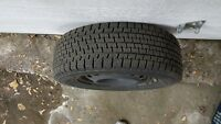 4 winter tires including rims