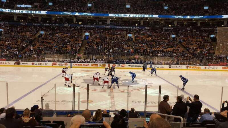 Toronto Maple Leafs vs Washington Capitals Tickets CENTRE ICE ... 47d4b6e50e6