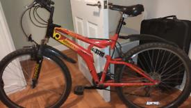 MTB suspension bike 26 inch