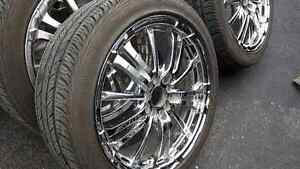 Mag chrome and tires 17inch pnue d'ete West Island Greater Montréal image 2