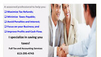 TAXES & ACCOUNTING - PROFESSIONAL AFFORDABLE SERVICES, CPA, CA