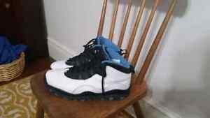 Jordan 10 powder blue size 9.5 8.5/10 condition