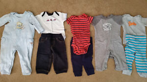 5 Outfits 6-12mths