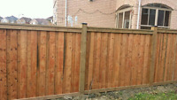 Fence Repair & New Installation *416-712-1265*
