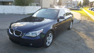 2007 BMW 525XI  4 DOOR