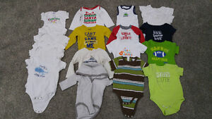 Boys onesies 18 to 24 months