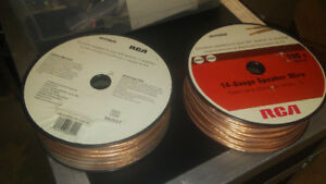 100ft 14 ga, speaker wire