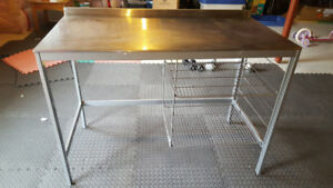 Stainless Steel Kitchen Island / Work Table