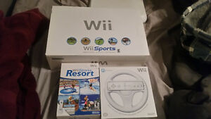 MINT CONDITION COMPLETE IN BOX NINTENDO WII+MORE COMPLETE ITEMS