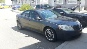 2007 Pontiac G6 Sedan needs work