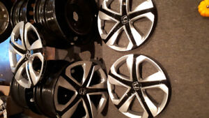 2017 Civic Factory Rims and Hubcaps