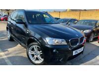 2011 BMW X3 2.0 20d M Sport Auto xDrive 5dr SUV Diesel Automatic