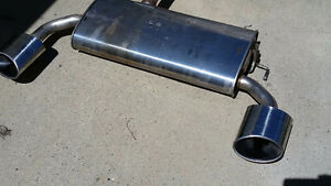 KIA SPORTAGE SX TURBO MUFFLER WITH CHROME TIPS