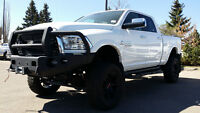2014 DODGE RAM 3500 LARAMIE LIFTED WITH 25K OF ACCESSORIES !!