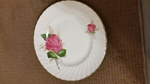 "Set of 8 Alicia by Swinnertons Dinner plates ""1952"""