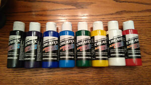 NEW Complete airbrush set for sale, paint & cleaning kit Kingston Kingston Area image 4