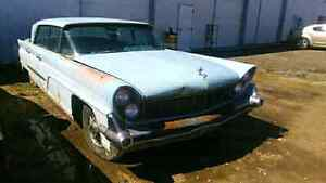 1959 LINCOLN AND A PARTS CAR 2 FOR 1 $2900 O.B.O