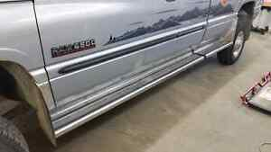Stainless Steel Running Boards XC Truck
