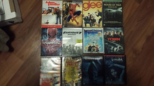 Various DVDs (Glee, Big Daddy, Furious 7, Spiderman, ext)