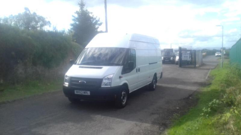 73ee06e8ee Ford Transit 2.2TDCi 125 Jumbo Only 60k mile