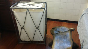 Beautiful Metal laundry basket .  Nice design Kingston Kingston Area image 5