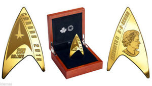 Pure Gold Coin – Star TrekTM: Delta Coin – Mintage: 1,500