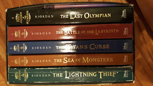 Book 1-5 Percy jackson West Island Greater Montréal image 1