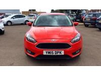 2015 Ford Focus 1.5 TDCi 120 Zetec 5dr Manual Diesel Hatchback
