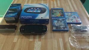 Ensemble Ps Vita de 16go complet  160$