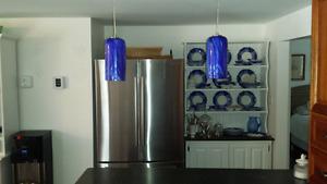 Murano glass pendant light fixture