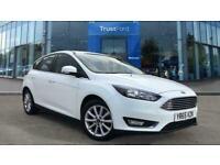 2015 Ford Focus 1.5 EcoBoost Titanium 5dr **One Previous Owner, December registe