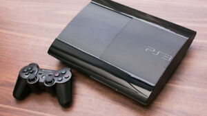 PS3 Superslim Console for Sale plus Games