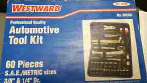 Westward Tool Set Brand New in Box  Sold new for 110 with taxes
