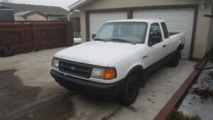 1997 FORD RANGER XL EXTENDED CAB 4.0 V-6 AUTOMATIC