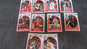 1989 NBA All-Star Game cards(10)