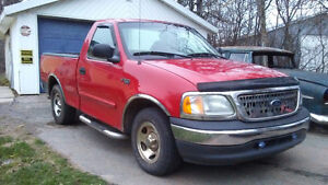 2000 Ford F-150 Reg cab swb Coupe (2 door)