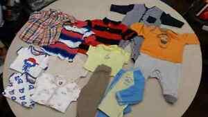 Lot vêtements bébé garçon 9 mois