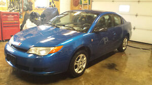 2004 Saturn Ion coupe (suicide doors)