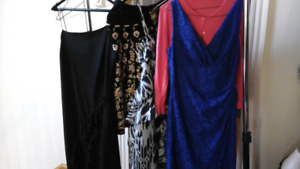 Lot of 2 dresses, 2 tops, 1 sweater set & 1 formal bolero  Sz. M