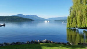 Shuswap Lake Waterfront - LAST MINUTE AVAILABILITY
