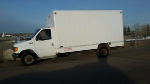 2004 FORD E450 CUBE VAN FOR SALE
