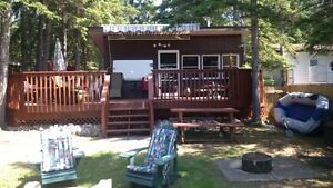 Cabin in Sandy Beach WATERFRONT & FURNISHED