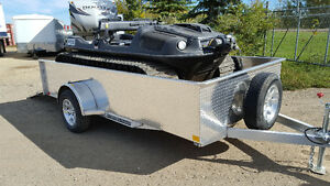 "CHECK THIS OUT - 2016 76"" x 12' Solid Side trailer with 22""walls"