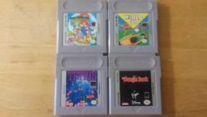 Set of Four GBA/Game Boy Games