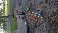 GARDEN TOOLS AND UTILITY CART HANDY TOOLS  HAVE FUN !!!