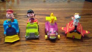 McDonalds - Peanuts - Pull back cars 1980s