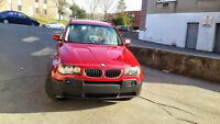 2006 BMW X3 SUV, Crossover with Navigation reverse Camera