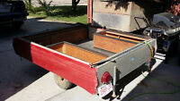 Converted Tent trailer for sale.
